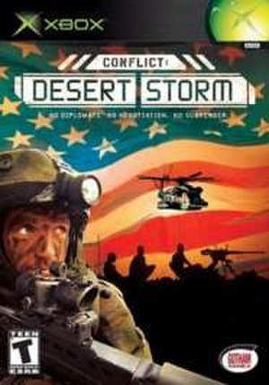 Conflict: Desert Storm - Image: Conflict 1box