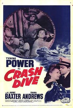 Crash Dive - Theatrical poster