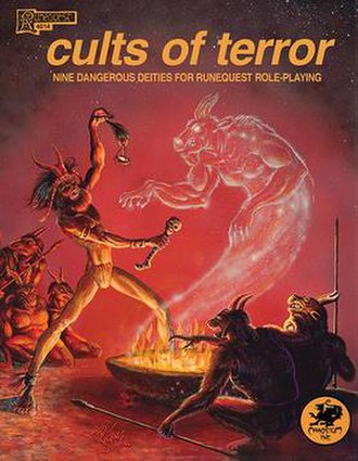 Cults of Terror - Image: Cults of Terror, Runequest supplement