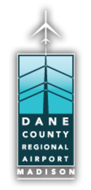 Dane County Regional Airport - Logo as of 2013