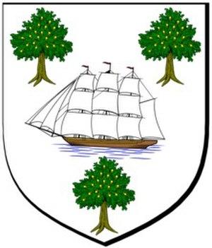 Clan Darroch - Image: Darroch chief arms