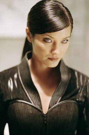 Lady Deathstrike - Kelly Hu as Lady Deathstrike in X2 (2003).