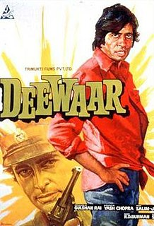 <i>Deewaar</i> 1975 Hindi-language action drama film directed by Yash Chopra