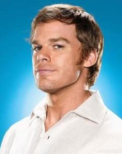 Dexter Morgan fictional character from the Showtime series