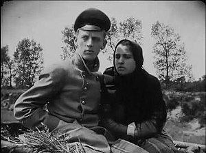 Die Gezeichneten (1922 film) - Thorleif Reiss and Polina Piekowskaja