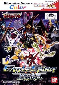 Box art for Digimon Tamers: Battle Spirit Ver. 1.5