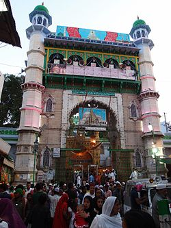 Buland Darwaza High entrance that was erected by Sultan Mahmood Khilji