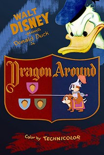 <i>Dragon Around</i> 1954 Donald Duck cartoon