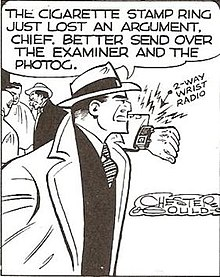 1931 : Dick Tracy Comic Strip Appears for First Time in Detroit Daily Mirror