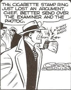 Dick tracy comic strip characters