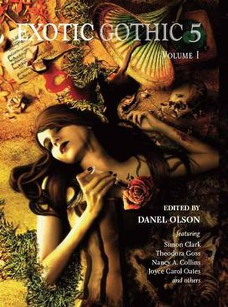 Exotic Gothic - The cover to the fifth book in series (2013).
