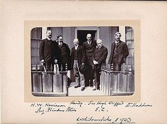 Edward Clodd - Image: Edward Clodd with associates