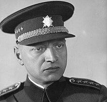 headshot of Emanuel Moravec in uniform