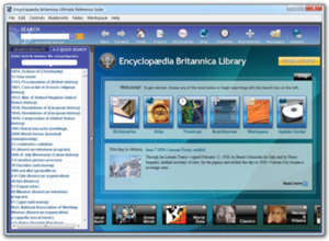 Encyclopædia Britannica Ultimate Reference Suite - Image: Encyclopaedia Britannica Ultimate Reference Suite