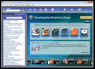 Encyclopædia Britannica Ultimate Reference Suite - Image: Encyclopaedia Britannica Ultimate Reference Suite