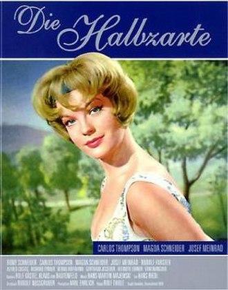 Eva (1958 film) - Film poster