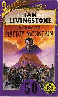 <i>Return to Firetop Mountain</i> 1992 book by Ian Livingstone