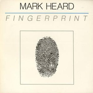 "Fingerprint (album) - Original Cover of ""Fingerprint"""
