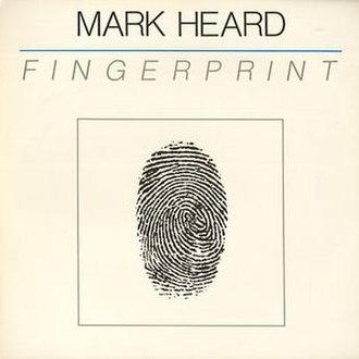 """Fingerprint (album) - Original Cover of """"Fingerprint"""""""