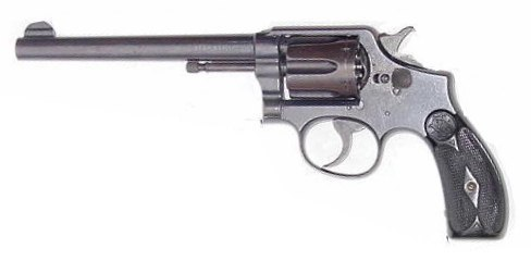 First model M&P revolver designed for the .38 Special cartridge