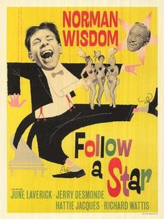 <i>Follow a Star</i> 1959 film by Robert Asher