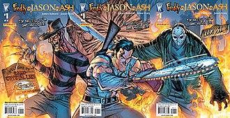 Freddy vs. Jason vs. Ash - Image: Freddy jason ash 1 cvr