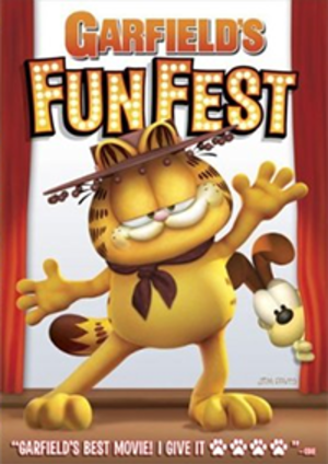 Garfield's Fun Fest - Cover art for the Garfield's Fun Fest DVD