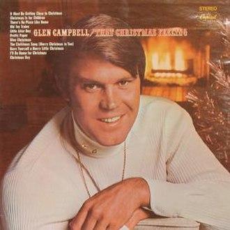 That Christmas Feeling - Image: Glen Campbell That Christmas Feeling album cover