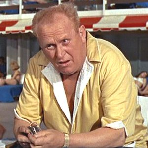 Auric Goldfinger - Gert Fröbe as Goldfinger