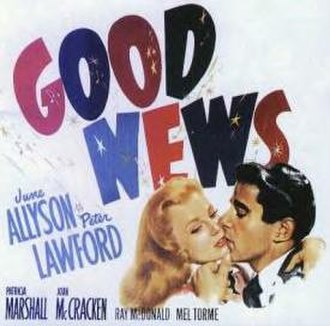 Good News (1947 film) - Poster for the 1947 film