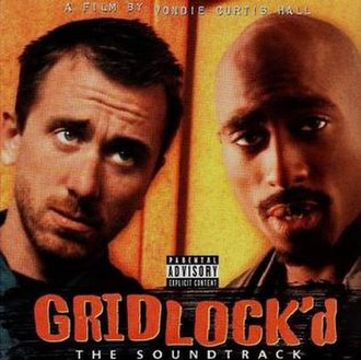 Gridlock'd (soundtrack) - Image: Gridlockdcover