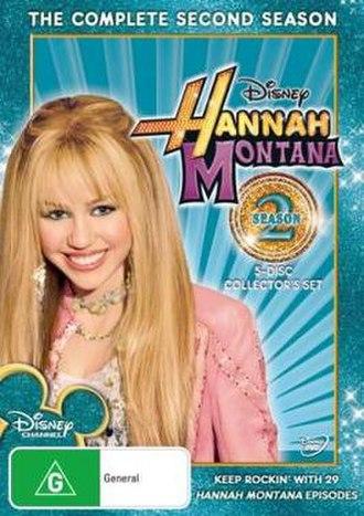 Hannah Montana (season 2) - Season 2  DVD cover