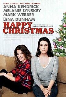 <i>Happy Christmas</i> (film) 2014 film by Joe Swanberg