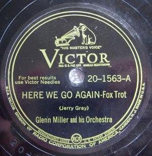 Here We Go Again (Glenn Miller song) - Image: Here We Go Again Glenn Miller 1563