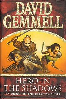 <i>Hero in the Shadows</i> book by David Gemmell