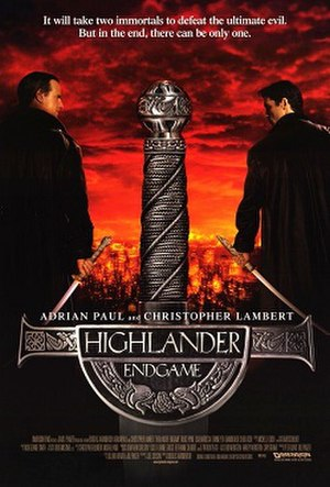 Highlander: Endgame - Theatrical release poster