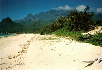 Regions of Queensland - Tropical rainforests and beaches on Hinchinbrook Island