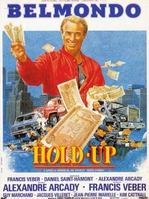 Hold-Up (1985 film) - French film poster
