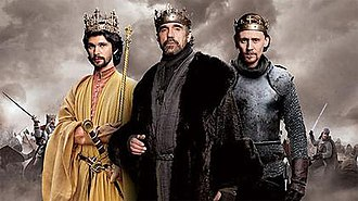 The Hollow Crown (TV series) - From left to right: Richard II, Henry IV, Henry V