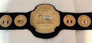 IWRG Intercontinental Lightweight Championship Professional wrestling championship by International Wrestling Revolution Group