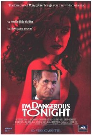 I'm Dangerous Tonight - Promotional poster