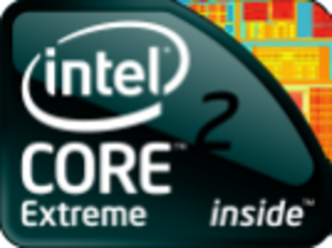 Intel Core 2 - Core 2 Extreme logo as of 2009