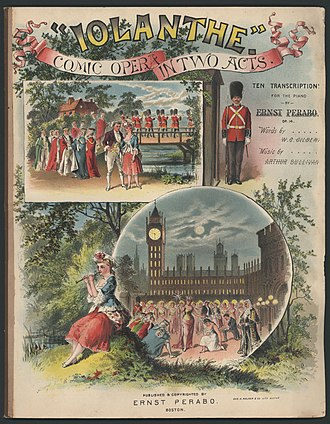 Iolanthe - Piano transcriptions, 1887