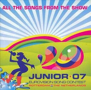 Junior Eurovision Song Contest 2007 - Image: JESC 2007 album cover