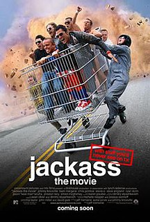 <i>Jackass: The Movie</i> 2002 American reality film directed by Jeff Tremaine