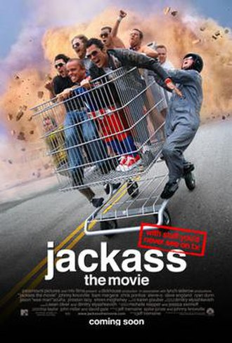 Jackass: The Movie - Theatrical release poster
