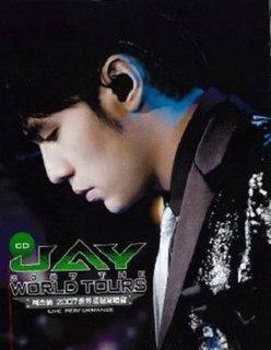 <i>2007 the World Tours</i> 2008 live album by Jay Chou