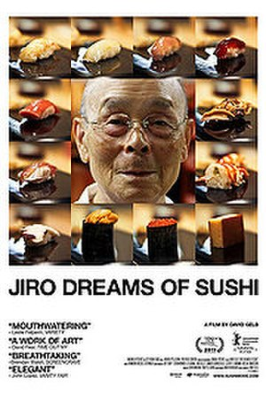 Jiro Dreams of Sushi - Official film poster