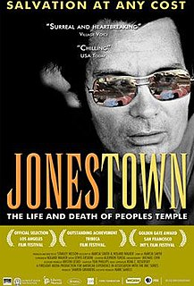 <i>Jonestown: The Life and Death of Peoples Temple</i> 2006 film by Stanley Nelson Jr.
