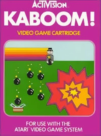 Kaboom! (video game) - Image: Kaboomcover